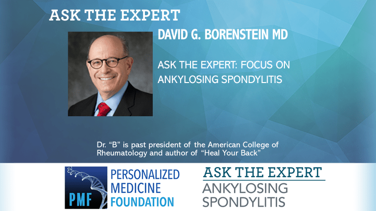 Ask The Expert About Ankylosing Spondylitis